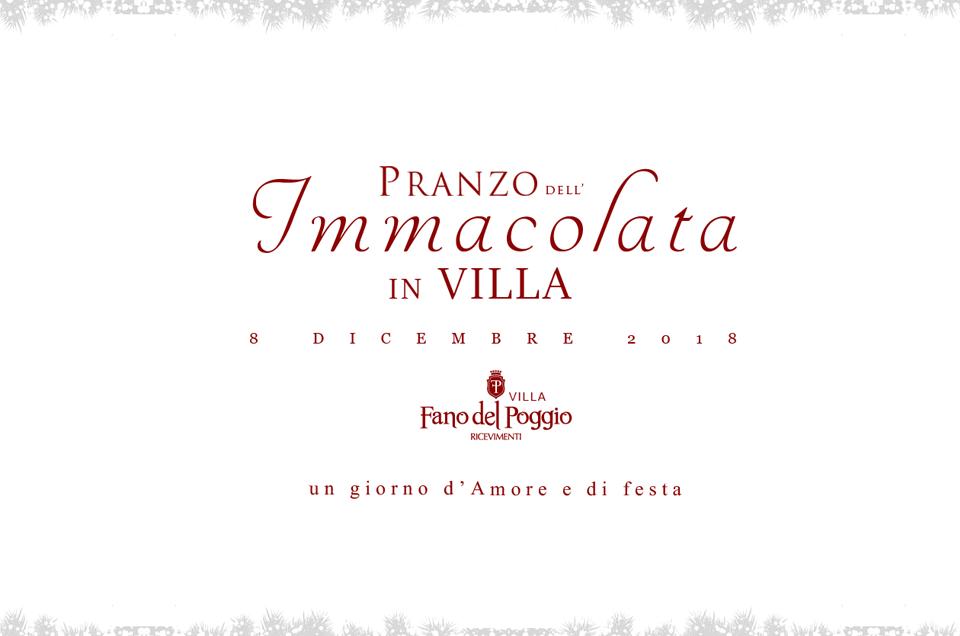 Pranzo dell'Immacolata in Puglia