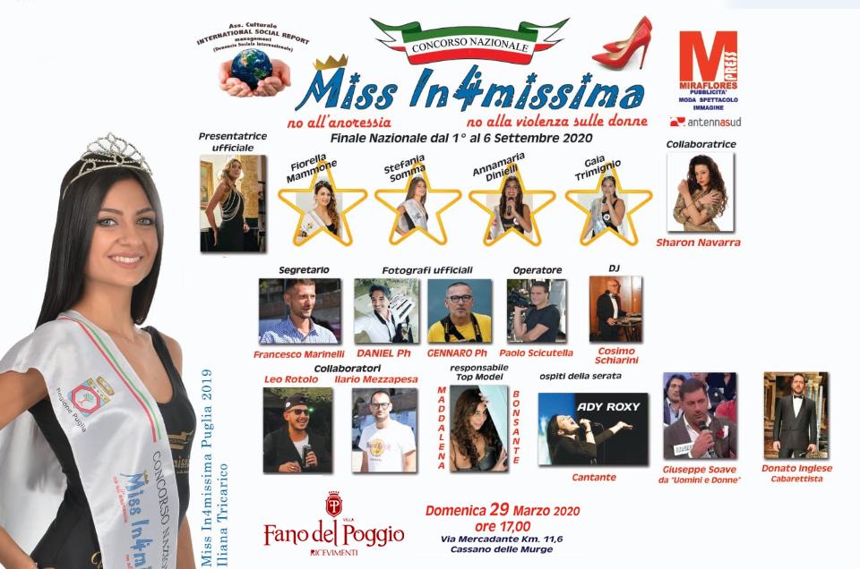 Concorso Nazionale Miss Informissima