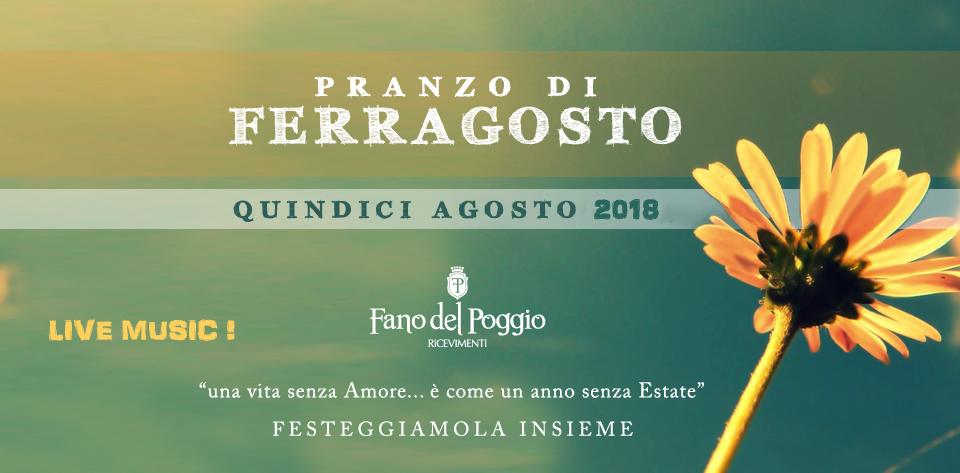 Pranzo di Ferragosto in Puglia, benvenuti in Villa !