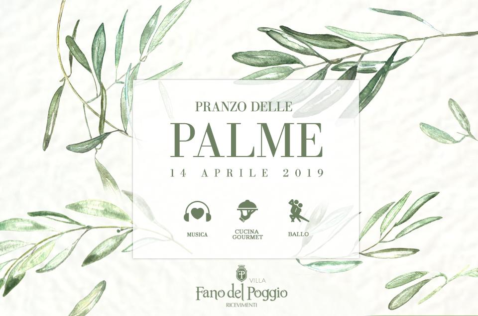 Pranzo delle Palme in Puglia